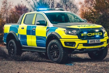 Ford Ranger Raptor police car ute