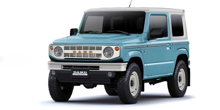 Suzuki Jimny Bronco kit