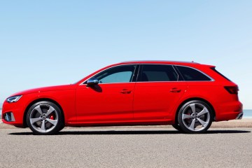 Audi S4 Avant in Australia side profile