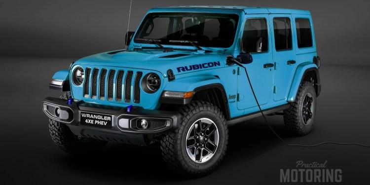 Jeep Wrangler 4XE PHEV Rubicon render