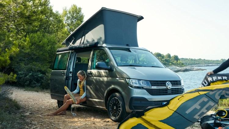 VW Kombi California Beach Australia