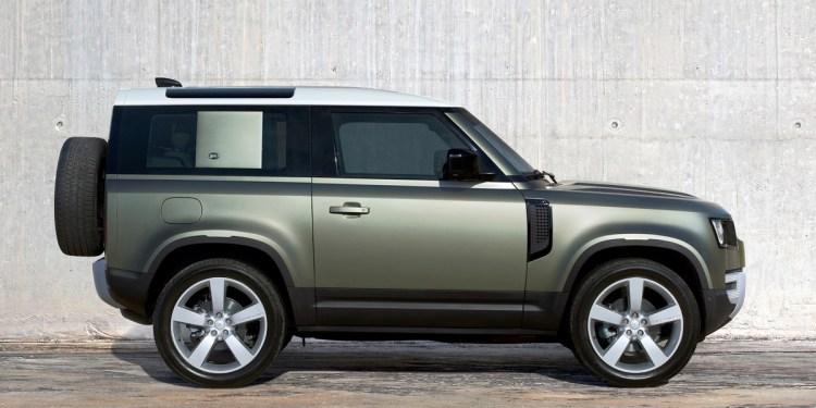 Australia's Land Rover DEfender 90
