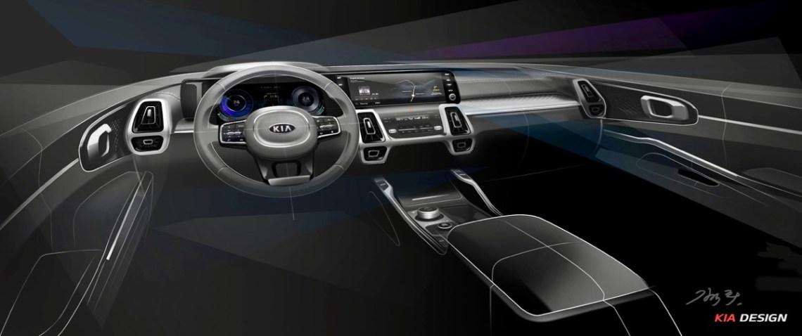2020 Kia Sorento Australia  interior wheel front