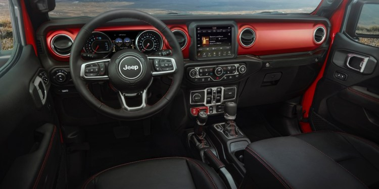 Jeep Gladiator Australia 2020 interior