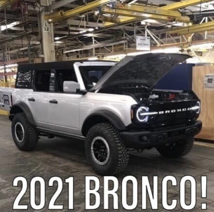 Ford Bronco full size leak