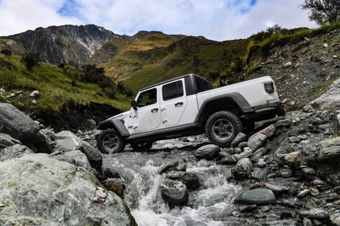 Jeep Gladiator Australia 2020 offroad