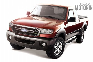 New Ford Courier style ute