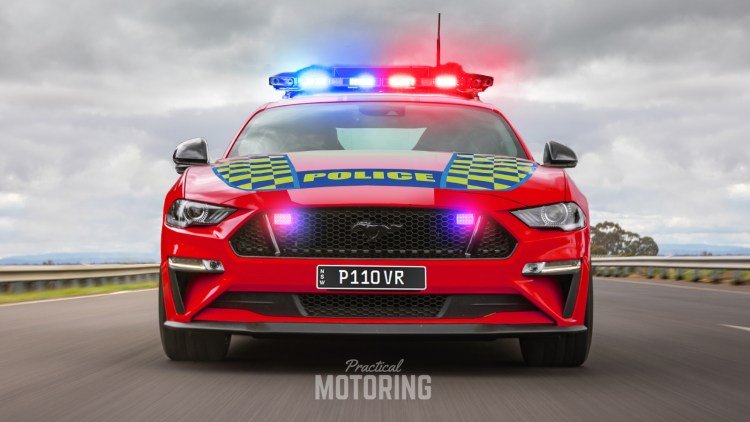 Ford Mustang Highway Patrol car Australia