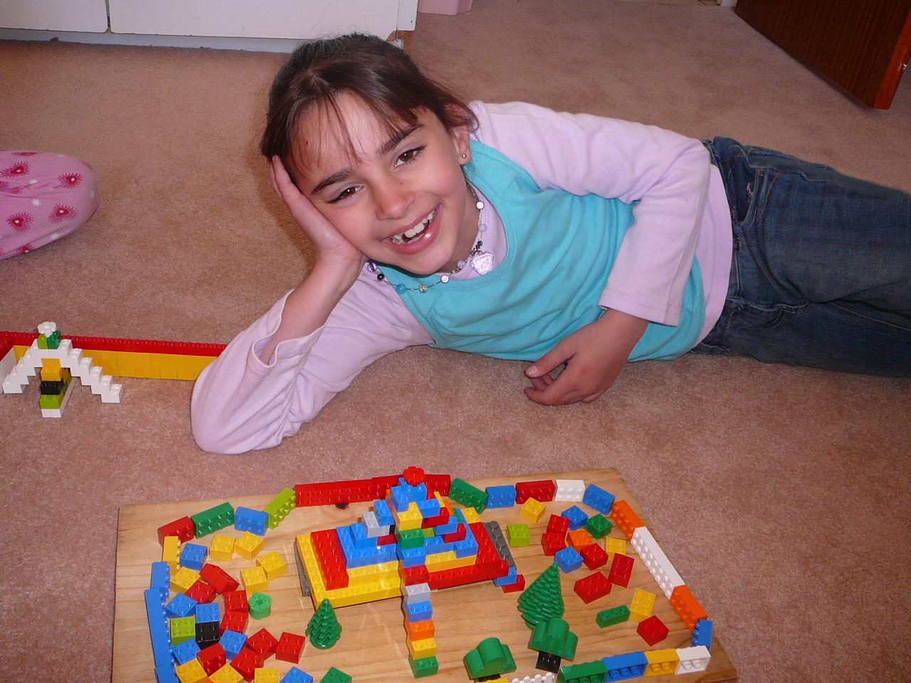 Sonlight And A Lego Ziggurat