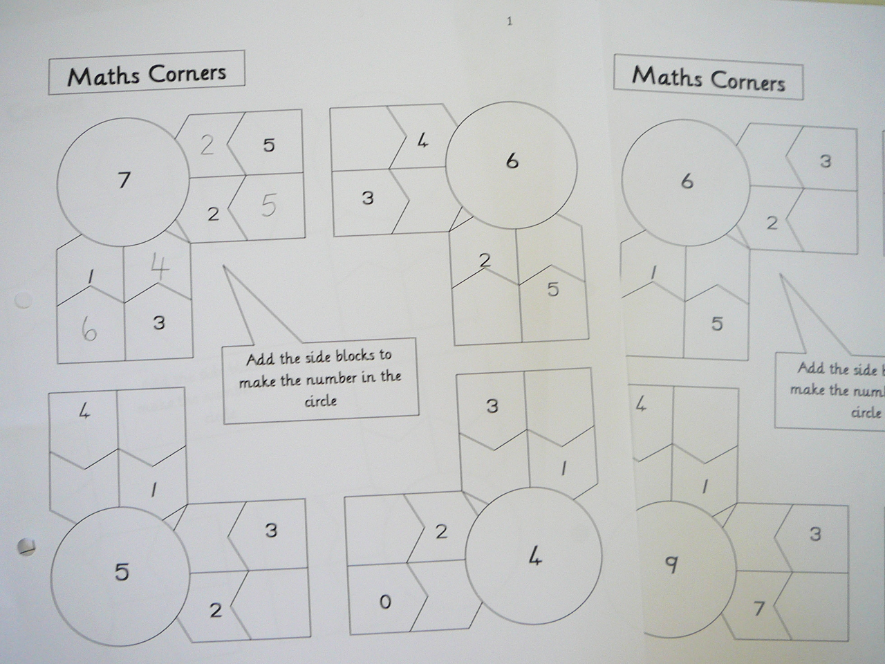 Mental Maths Practice Fun Worksheets