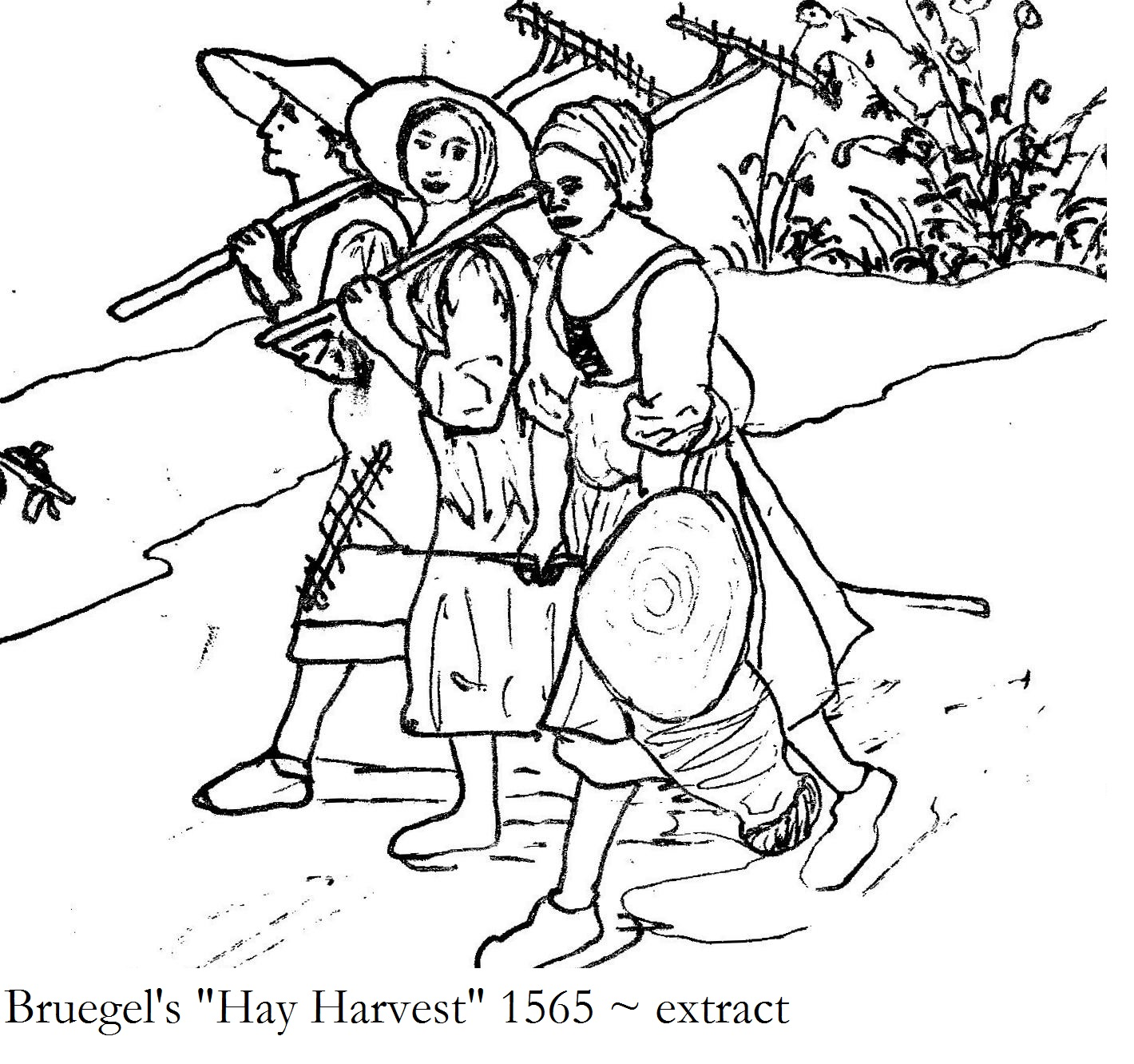 Peasant Coloring Pages Coloring Pages