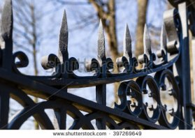 old iron gate
