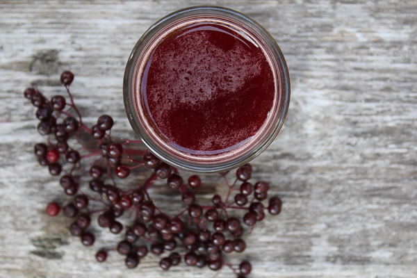 Elderberry Oxymel