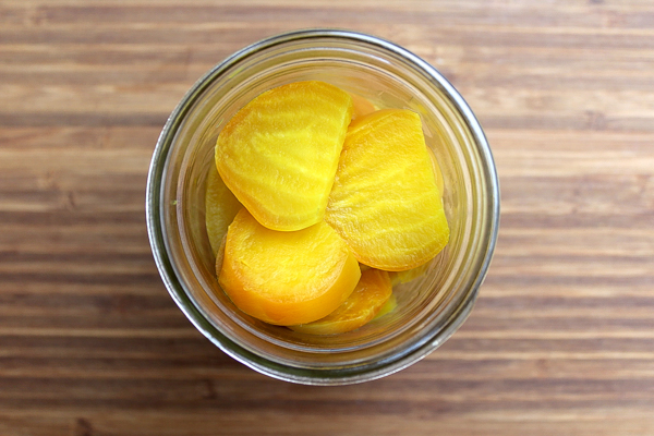 Pickled Golden Beets - Recipe for Canning