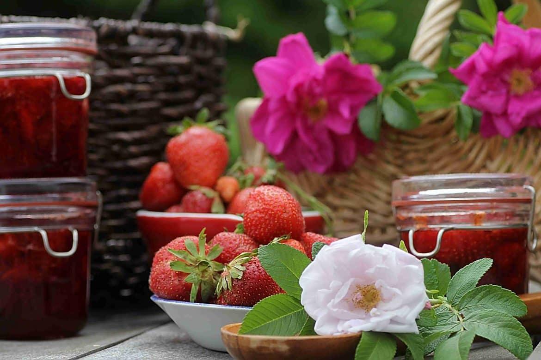 Strawberry Rose Jam