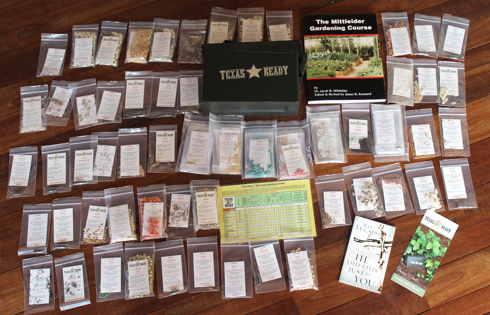Texas Ready Survival Seed Bank