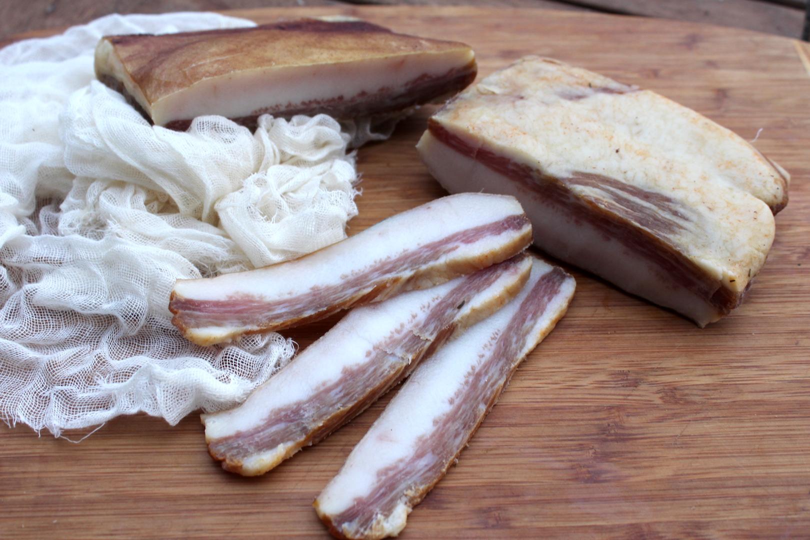 Hog Jowl Bacon Guanciale