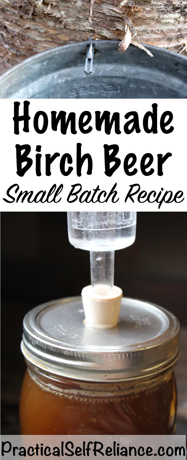 Homemade Birch Beer Recipe