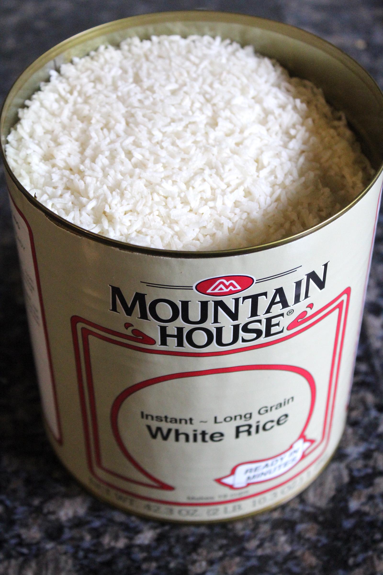 Mountain House Freeze Dried Rice