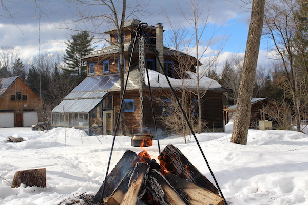 Camping Off The Grid in Vermont