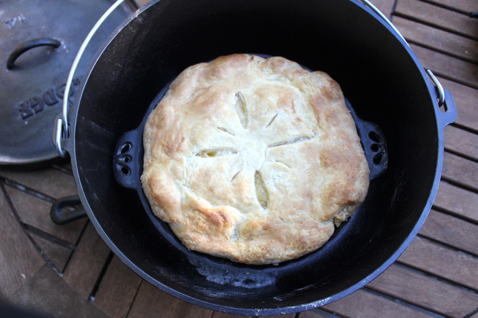 Dutch Oven Pie