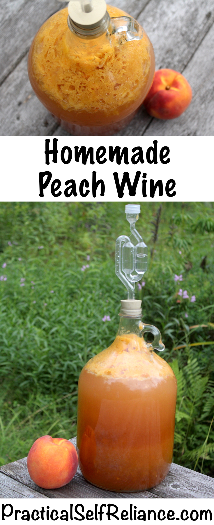 Homemade Peach Wine Recipe