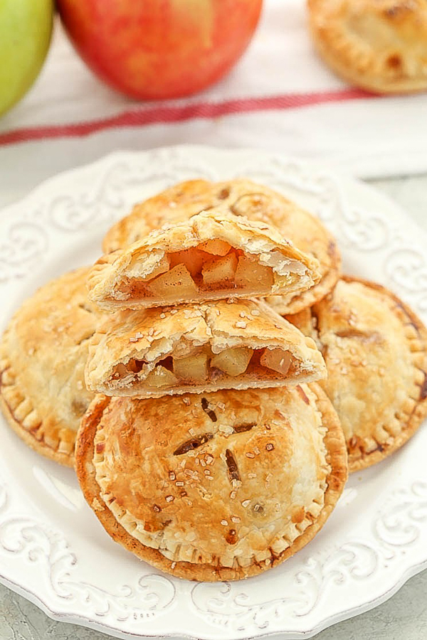 Apple hand pies from live well bake often
