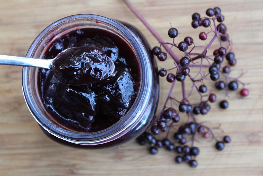 Homemade Elderberry Jelly