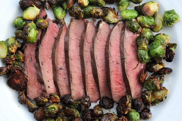 Deer Heart Steak ~ Marinated Grilled Venison Heart