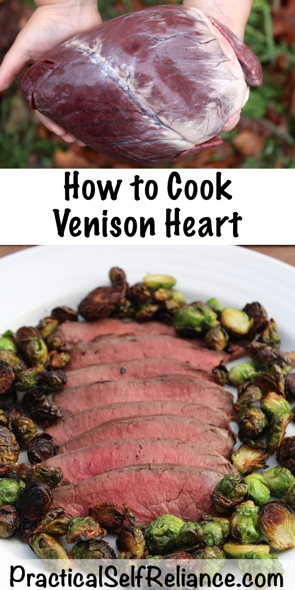 How to Cook Venison Heart ~ Wild Game Recipes for Deer Heart
