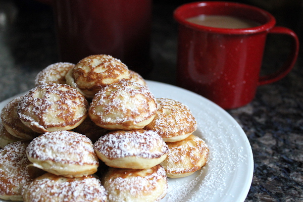 How to Make Poffertjes - Danish Pancakes