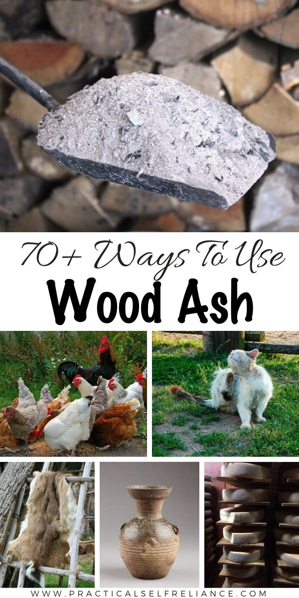 70+ Ways to Use Wood Ash from a Wood Burning Stove ~ Wood Ash Uses for Home, Garden and Survival ~Historical and Modern Uses for Wood Ash #woodash #uses #homsteading #selfsufficiency #survivalist #garden #foodpreservation