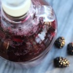 Homemade Blackberry Wine