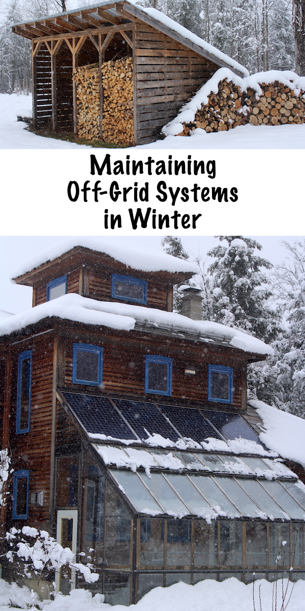 Maintaining Off Grid Systems in Winter #offgrid #winter #preparedness #survival #shtf #homesteading #prepper #selfsufficiency #selfreliant