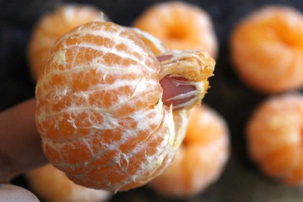 Preparing Oranges for canning