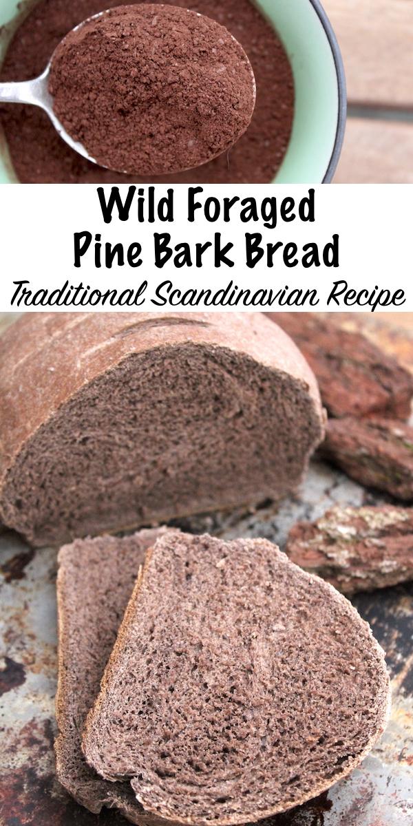 Wild Foraged Pine Bark Bread ~ Traditional Scandinavian Recipe