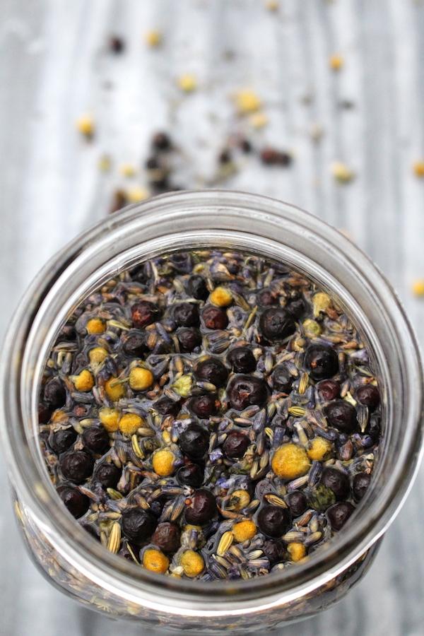 DIY Herbal Infused Gin