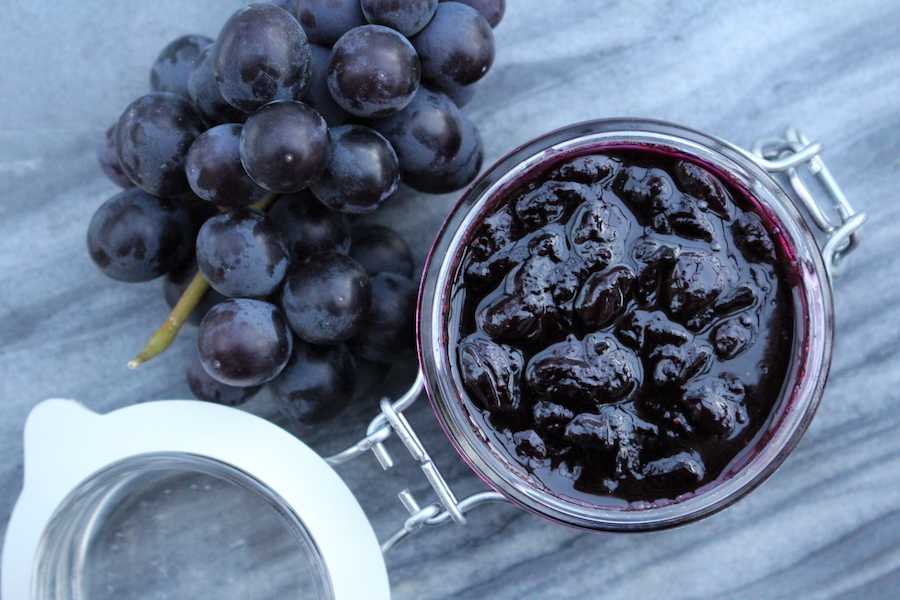 Traditional Grape Jam Recipe