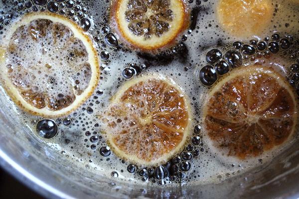 Lemon Raisin Syrup for Parsnip Wine