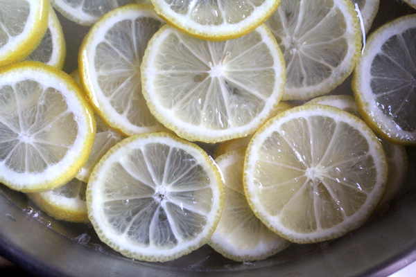 Lemon Slices for Lemon Wine