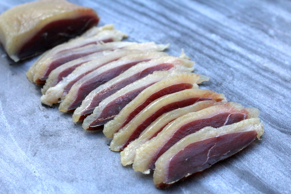 Salt Cured Duck Breast Prosciutto