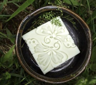 Homemade Yarrow and Witch Hazel Soap