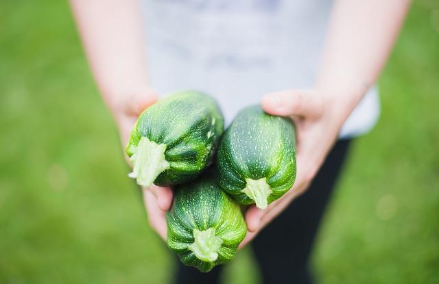 holding garden produce