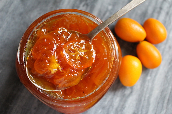 Homemade kumquat jam recipe