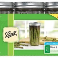 Extra Tall Ball Wide Mouth Mason Jars, 24 oz (Pack of 9)