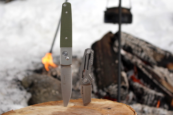 Knives included in the Tactical Subscription box from Battlbox