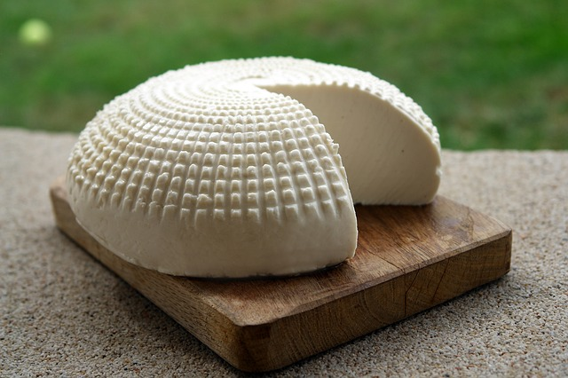 Fresh Homemade Goat Cheese ~ Though soft goat cheese is the best known these days, you can make any type of cheese with goats milk.