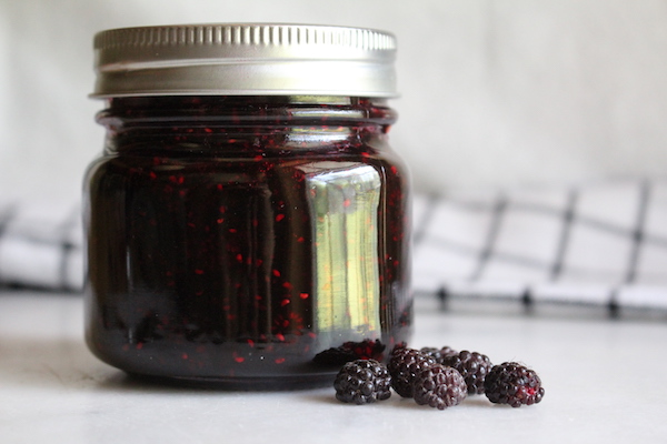 Homemade Black Raspberry Jam