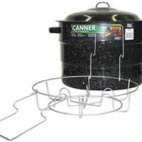 21.5 QT Cold Pack Canner With Rack Graniteware - Walmart.com