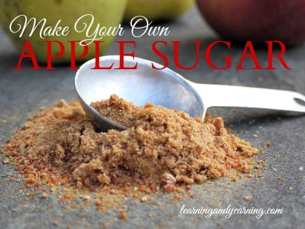 Apple pomace sugar (Image courtesy of Learning and Yearning)